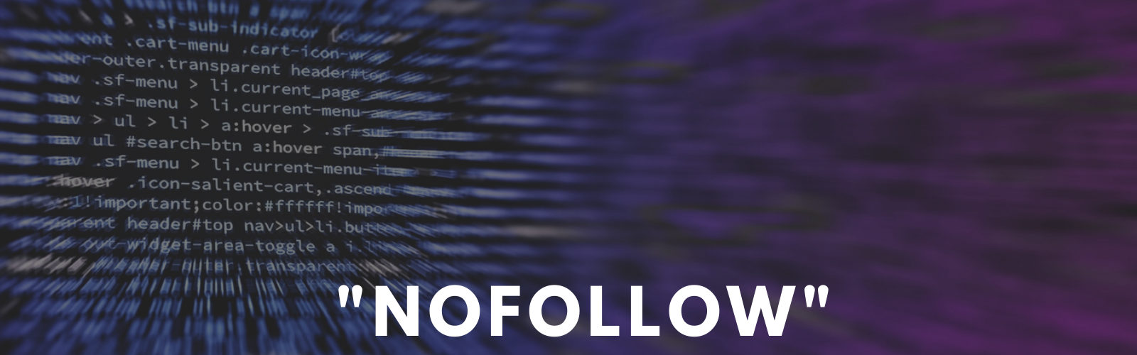 The second stage of Google's nofollow algorithm update is imminent